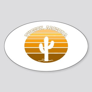 Tucson, Arizona Oval Sticker